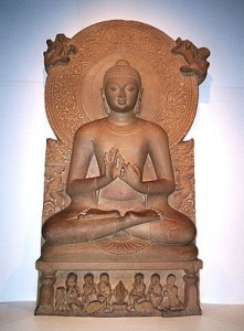 Buddha in Sarnath Museum